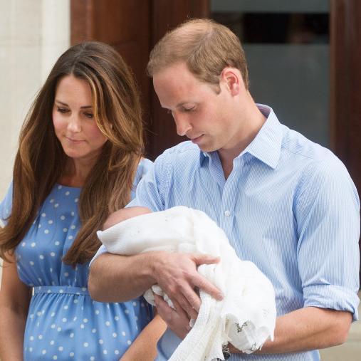 Filming the Royal birth